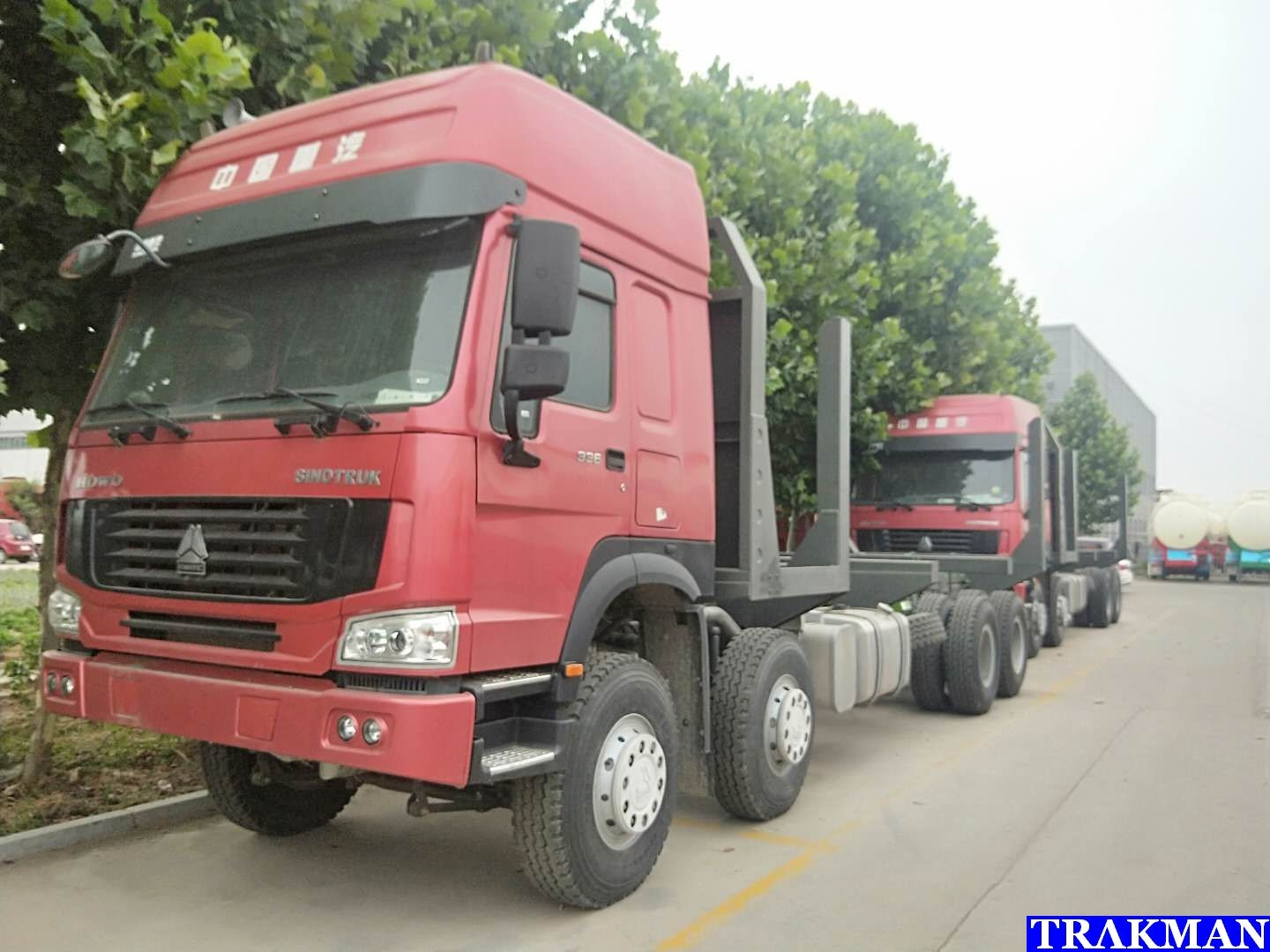 Chine Low Price Sinotruk Howo 8x4 12 Roues Tipper Truck