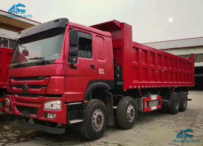 China Used Dump Truck for Sale Sinotruck HOWO 6X4 8X4